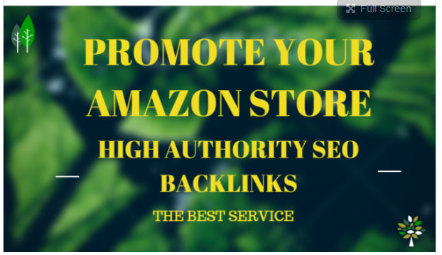 create 500,000 HQ backlinks for amazon store promotion, amazon sales