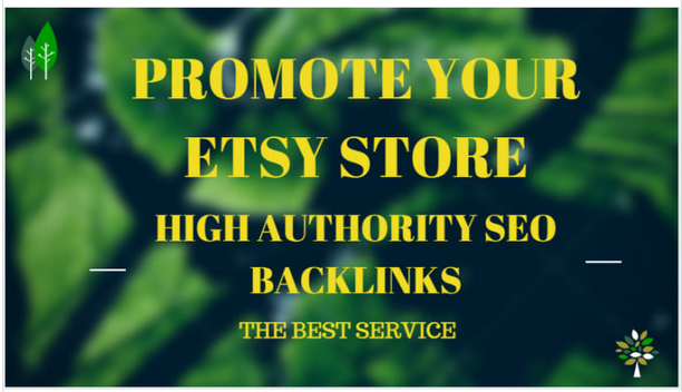 provide 1 million backlinks to promote your etsy store