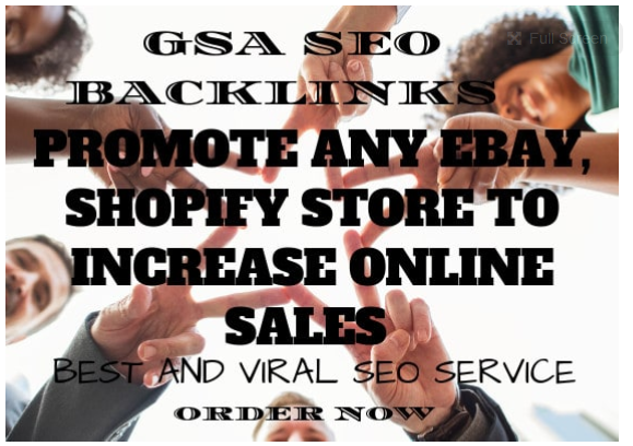 promote any ebay,  shopify store to increase online sales