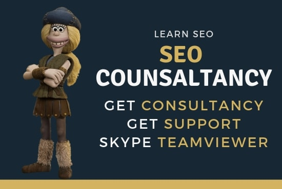 be your SEO consultant on or will teach you search engine optimization