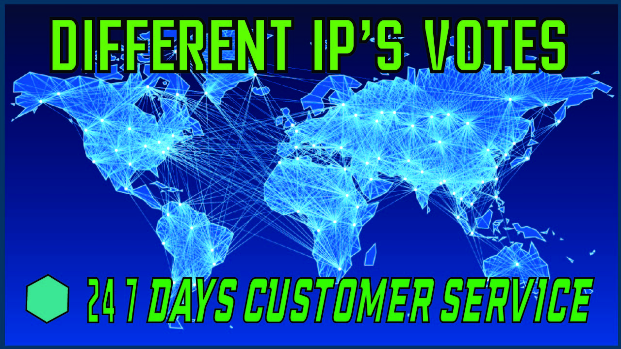 Provide you 105 USA Different IP Votes In Your contest