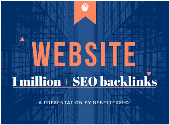 Give 10,000, 00 high quality SEO backlinks boost your website ranking