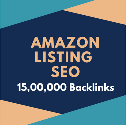 Amazon listing SEO by 15,00,000 backlinks