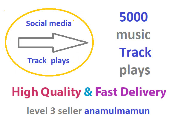 Instant 5000 High Quality Track Promotion