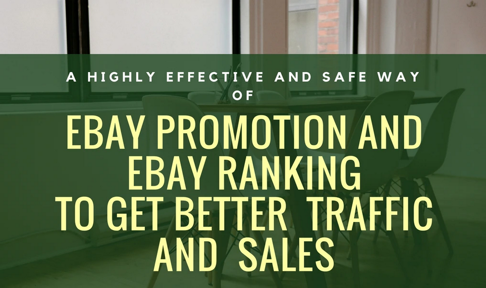 promote your ebay shop to increase ebay traffic and sales