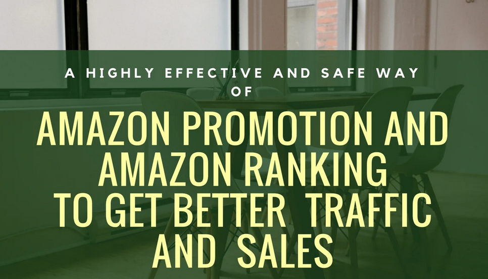 promote and rank amazon store to increase traffic and sales