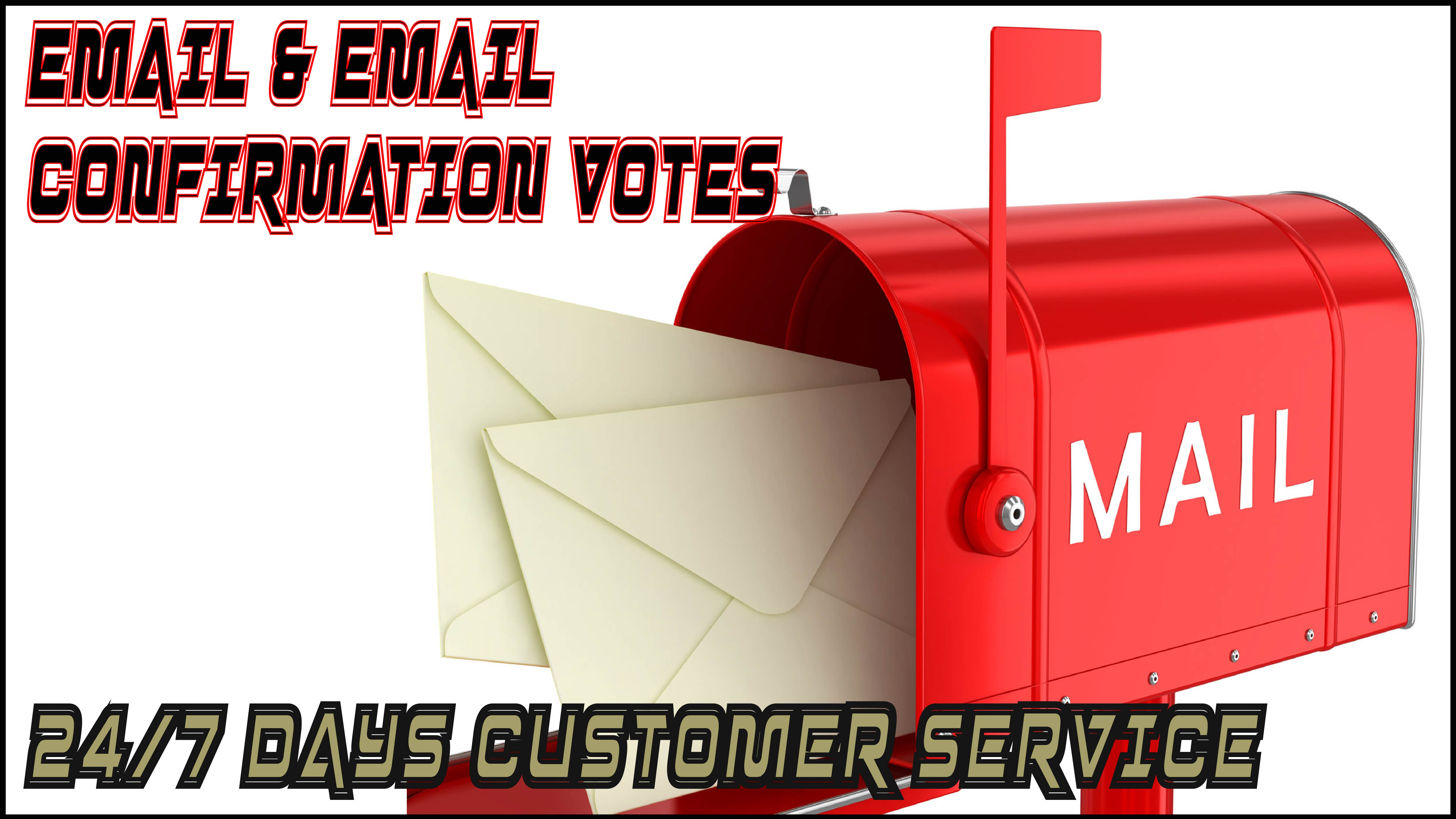 Add 105 Email and Email Conformation for your contest votes