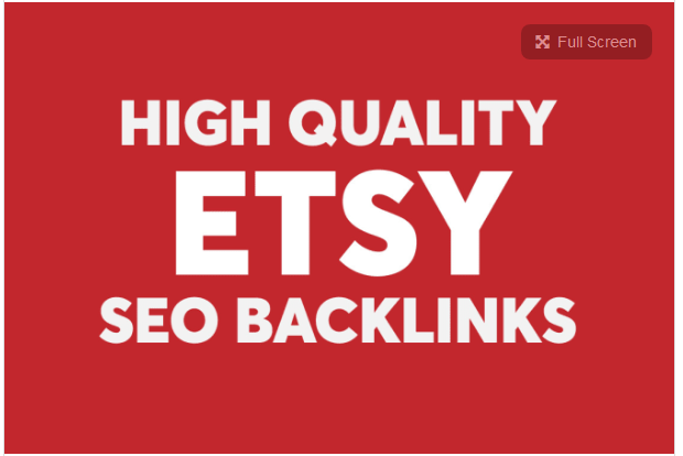 create high authority niche specific etsy SEO backlinks