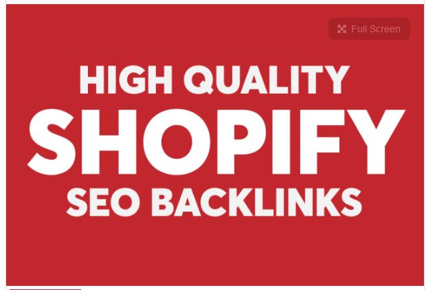 create superstrong high da pa shopify SEO backlinks
