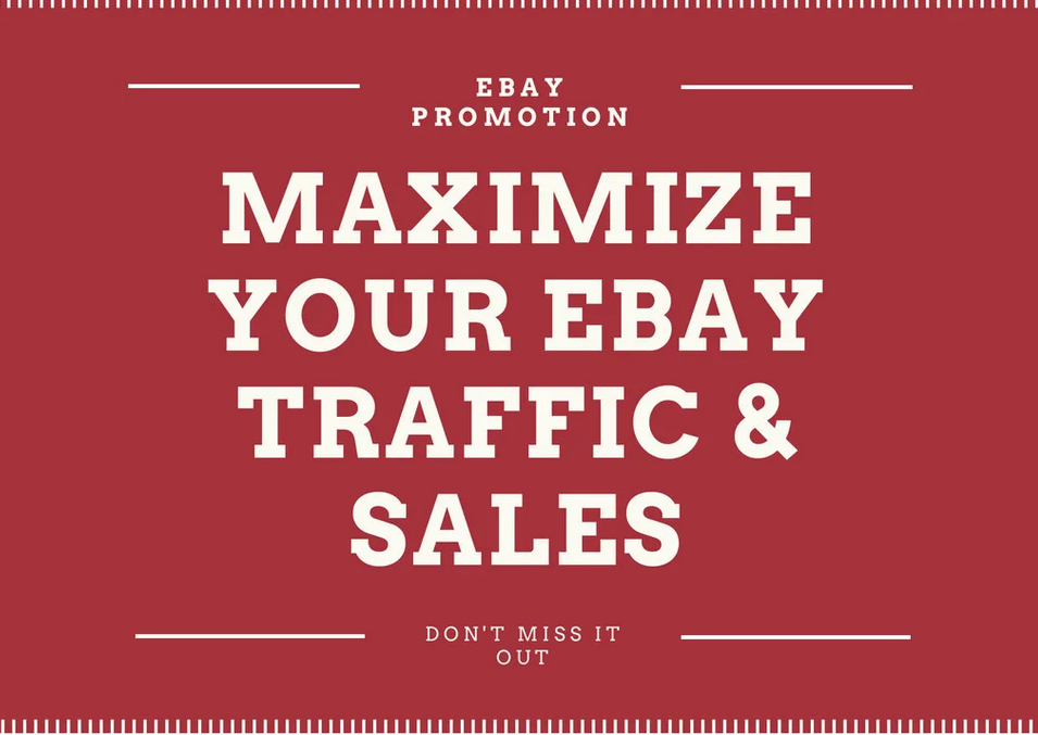 ebay promotion to maximize your ebay traffic and sales