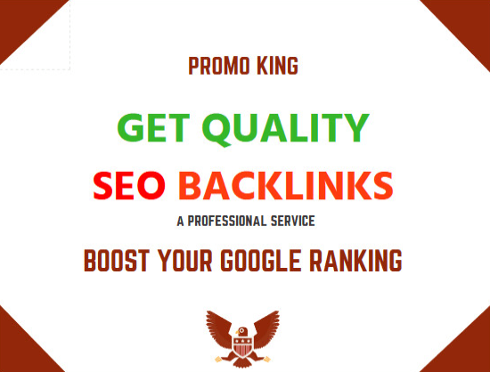 provide a quality SEO service, backlinks for the ranking of websites