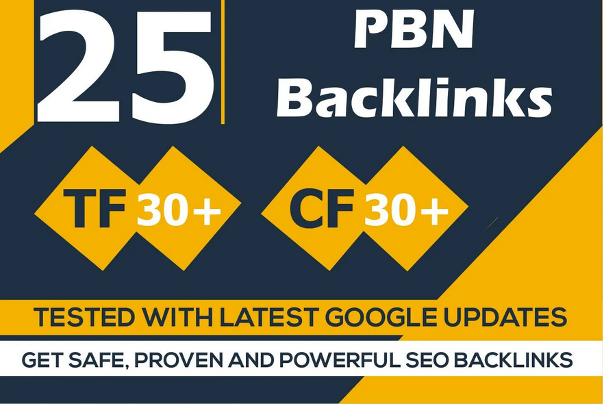 make high trust flow pbn backlinks