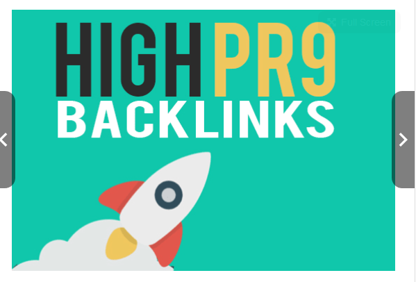 Provide high pr9 SEO backlinks for high google ranking