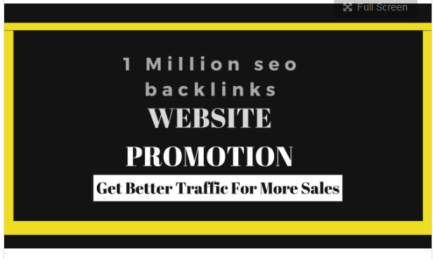 make SEO backlinks for website promotion