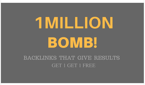 make 1,000,000 SEO backlinks to rank and promote etsy store
