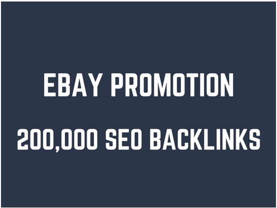 Help you rank higher on ebay by 200,000 GSA SEO backlinks
