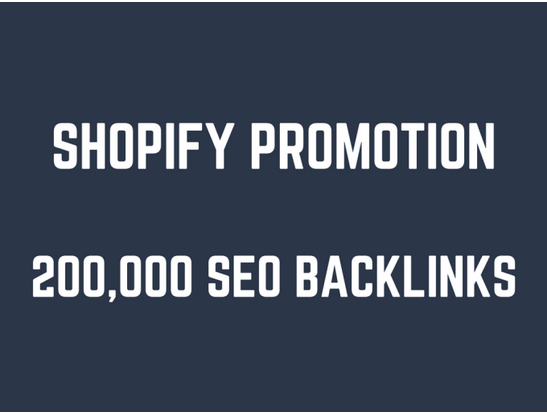 Help you rank higher on shopify by 200,000 GSA SEO backlinks