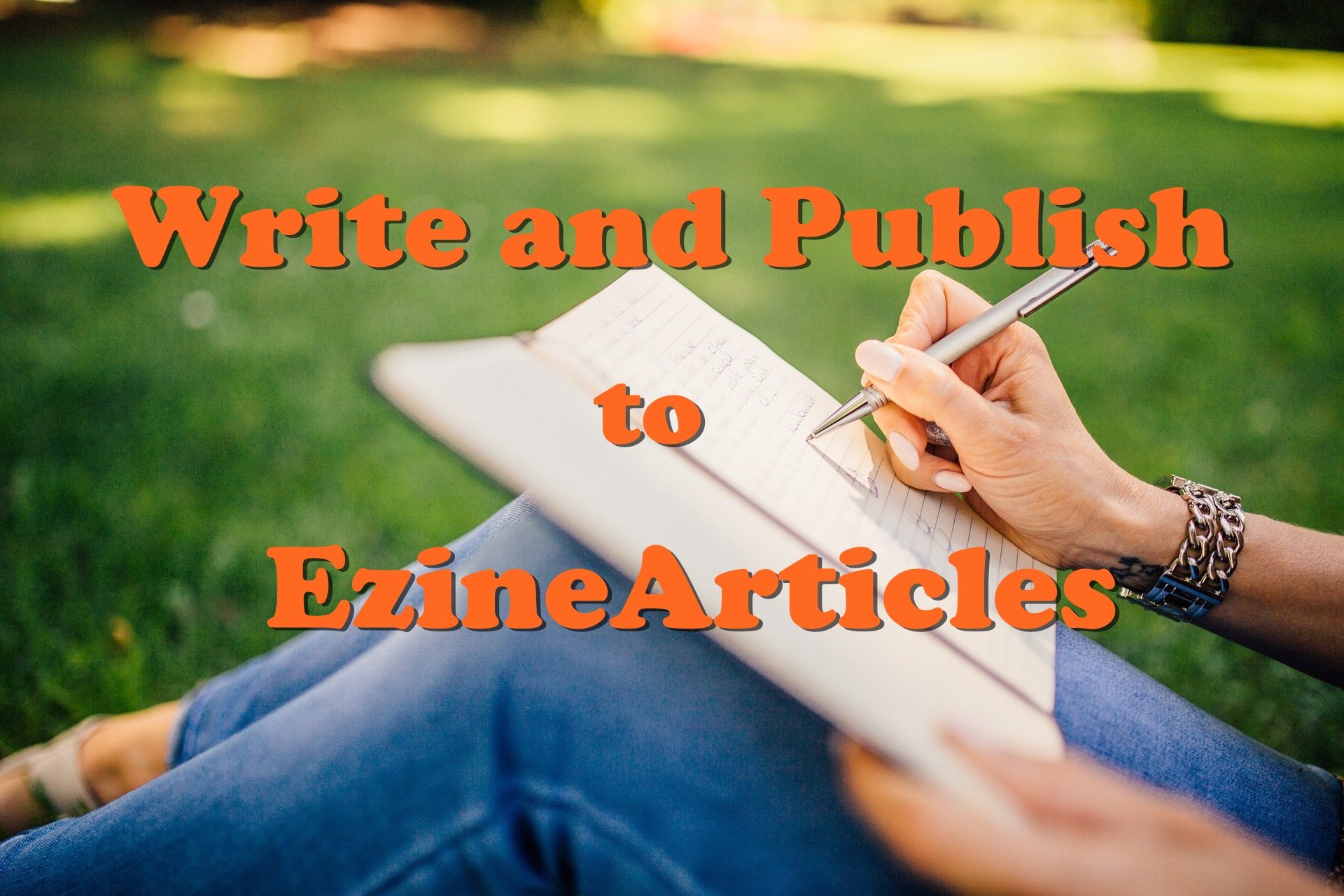 Write and Publish to EzineArticles 500 Words with Social Backlinks High DA