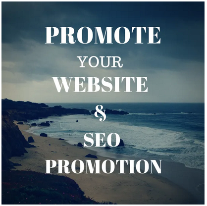 Promote your website and SEO promotion