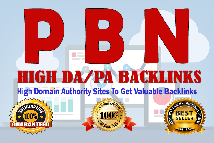 DA30 to 40 Manually Build 20 UNIQUE HOMEPAGE PBN back...