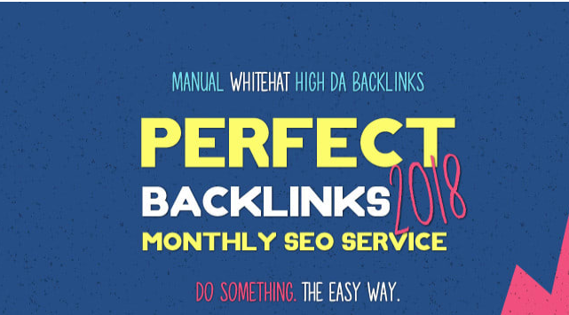 create high da perfect whitehat backlinks,  monthly SEO service