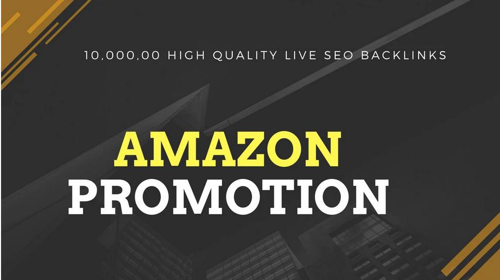 provide 1m high quality live SEO backlinks amazon promotion
