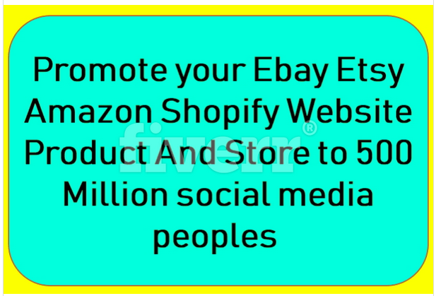 Blast Traffic To Ecommerce Amazon Web Etsy Ebay Promotion Or Marketing For 10 Seoclerks
