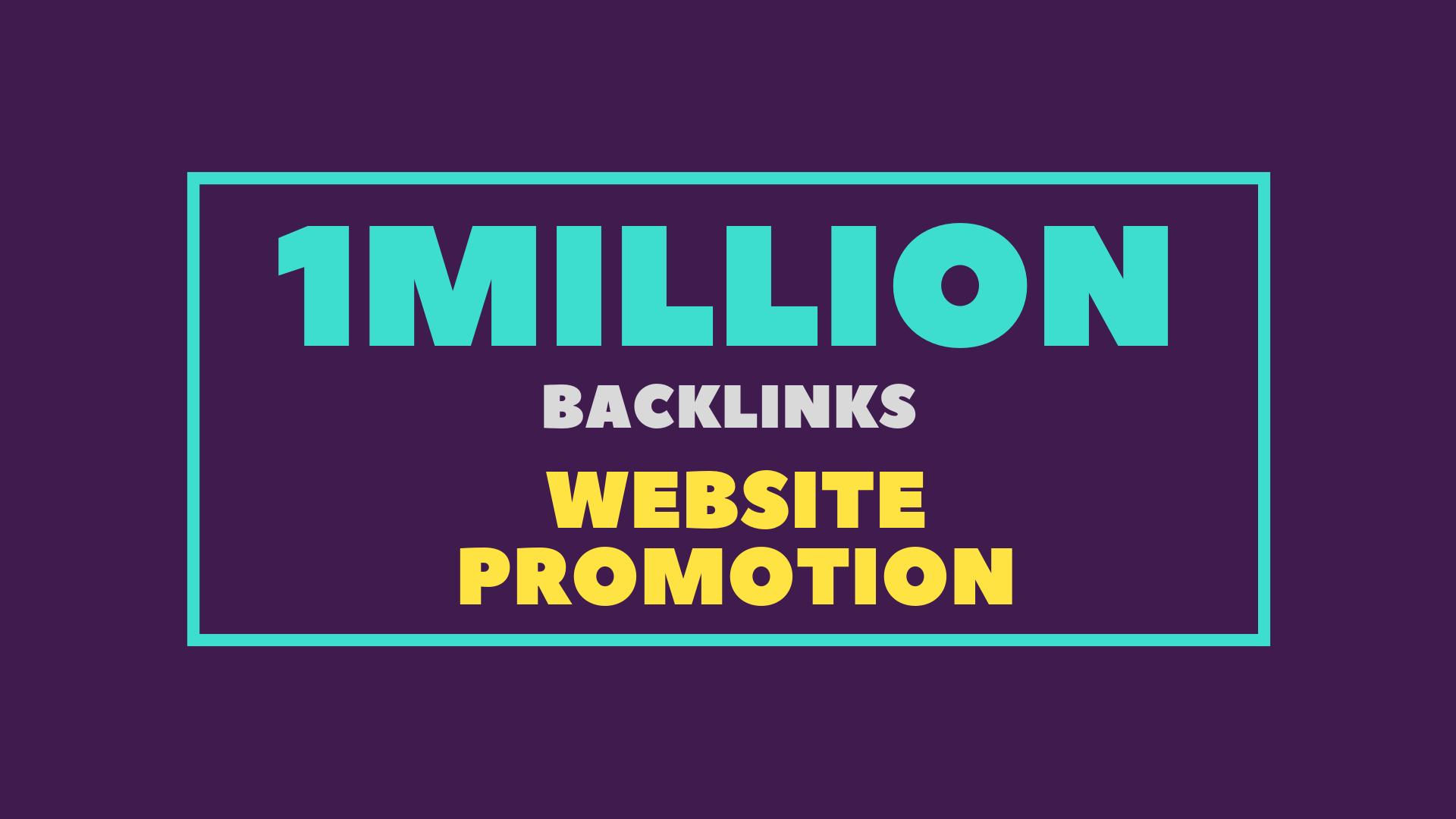 Give 10,000, 00 high quality GSA SER backlinks for website promotion