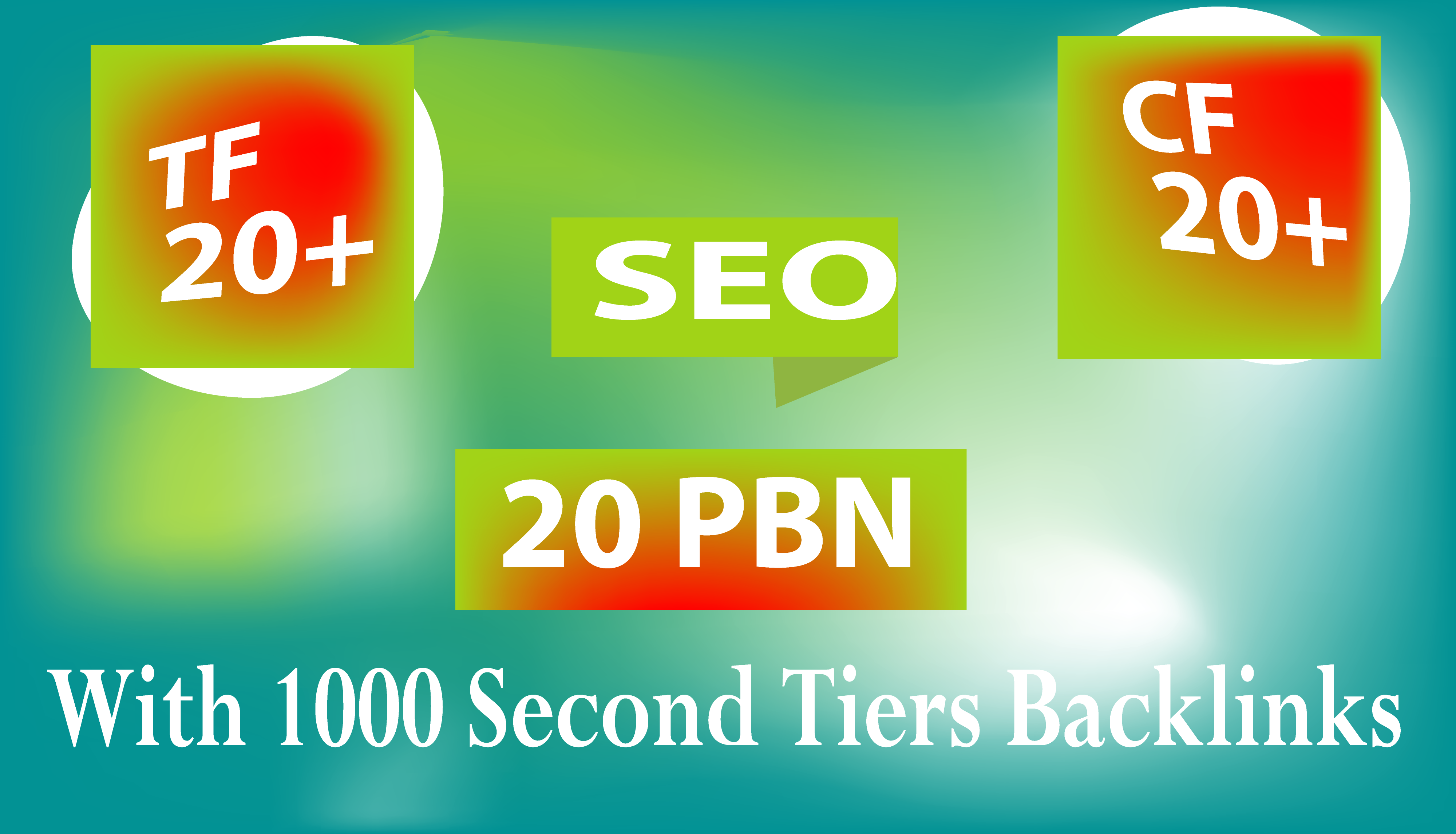 Build 20 Permanent Homepage PBN With 1000 2nd Tiers Backlinks