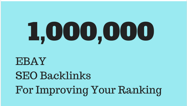Make Doffolow SEO backlinks to promote your ebay store