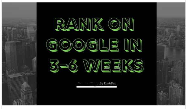 rank your site on google,  bury your competitors now