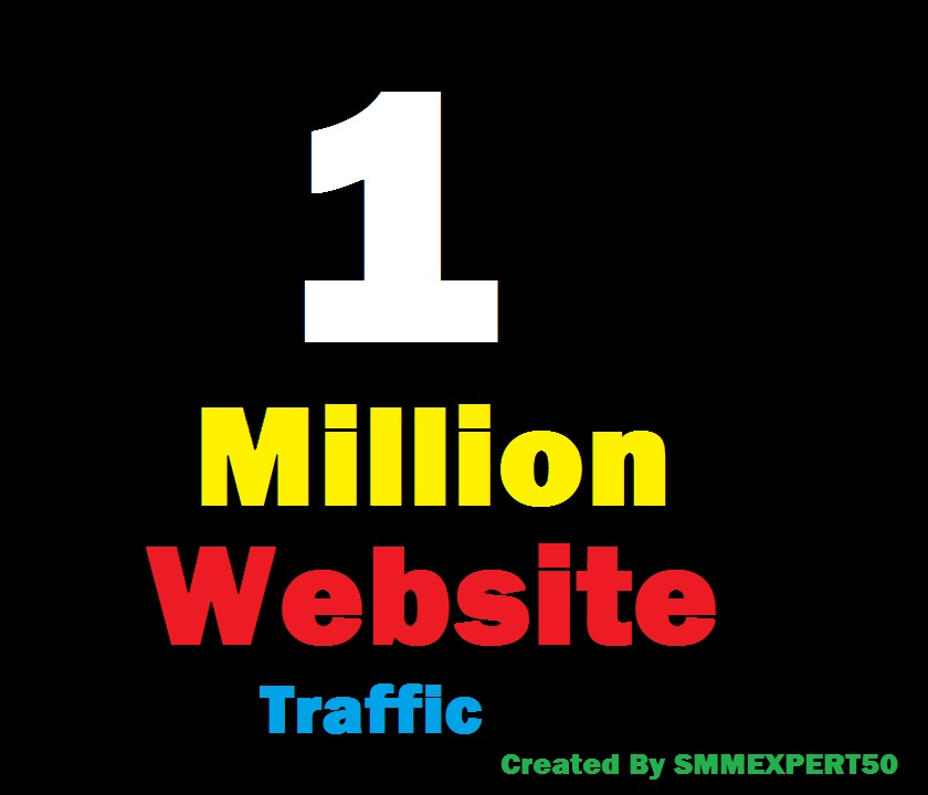 1 Million Worldwide site Traffic Visitors For Online ...