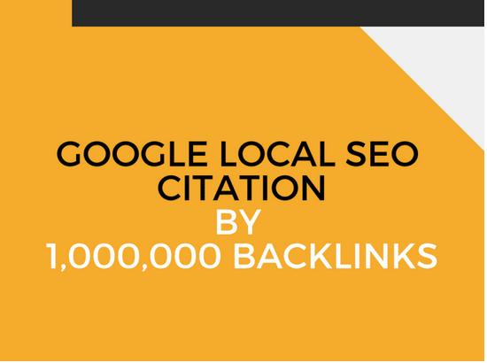 Make google local SEO citation