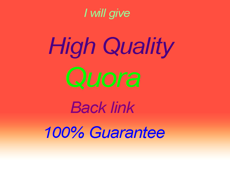 Promote your website with High quality 25 Quora answer