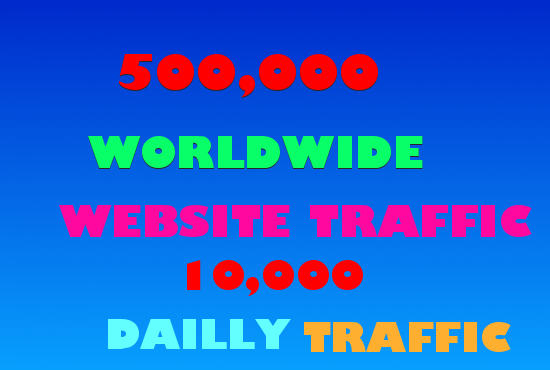 10,000 daily visitors for 50 days