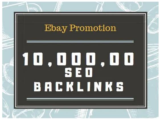 bulid SEO backlinks for ebay store promotion,  online store backlinks