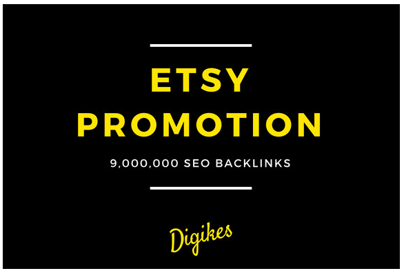 provide SEO backlinks for etsy store promotion to boost your online sale