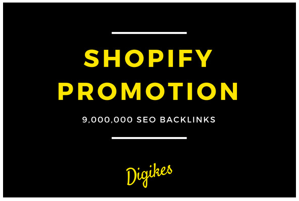 build 900,000 backlinks for your shopify SEO