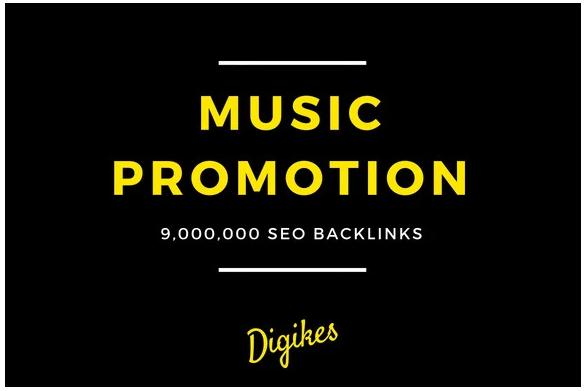 Make 900,000 music promotion SEO backlinks