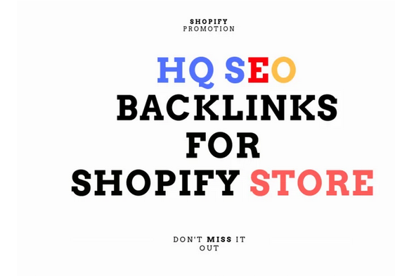 Boost shopify store SEO with high da GSA backlinks