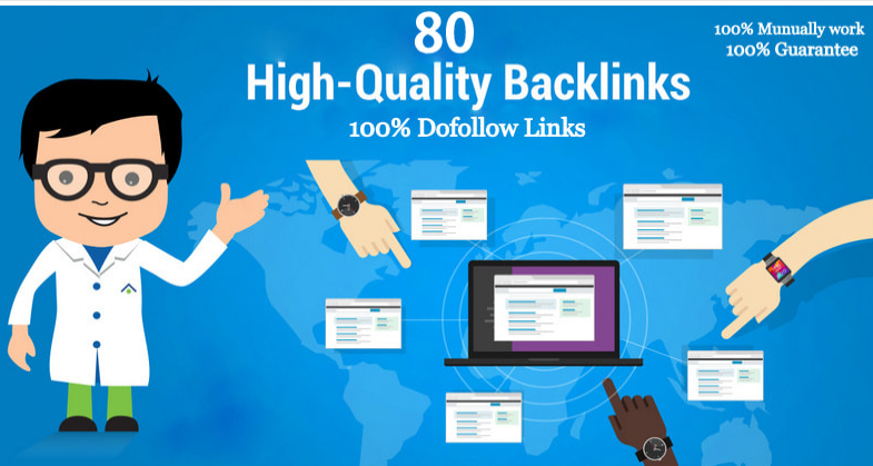 provide 80 dofollow backlinks high quality