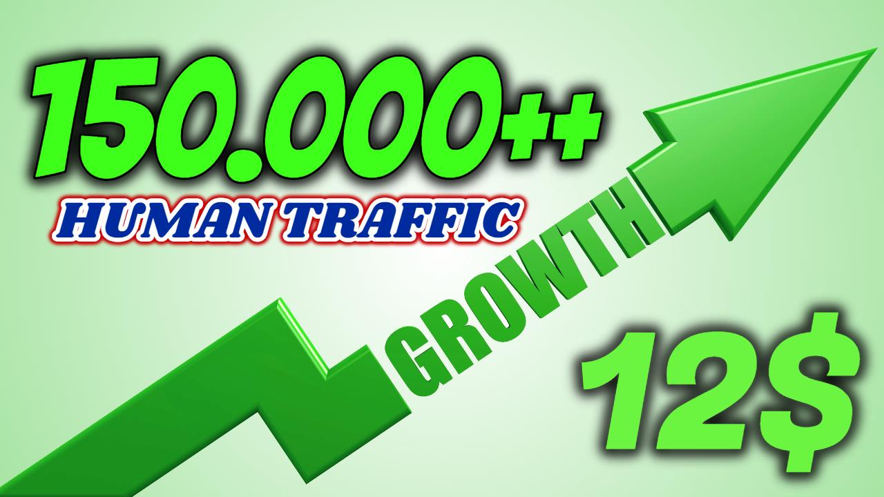 Send 150000+ Human Traffic by Google Bing Yahoo etc