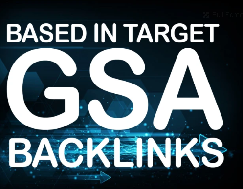 create 15,000 gsa ser backlinks, based in target