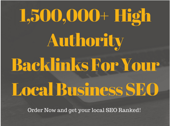Create high quality backlinks for your local business SEO Backlinks
