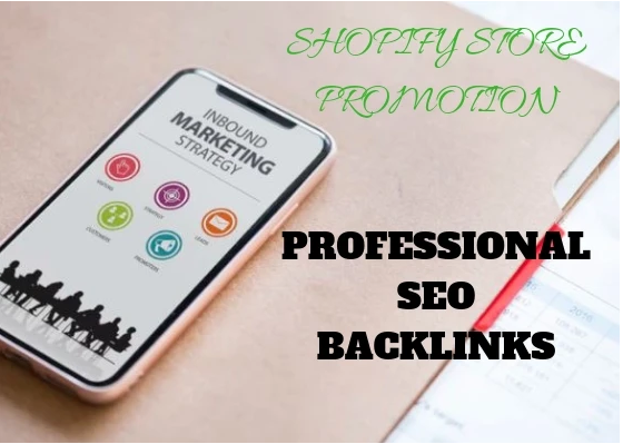 Promote your shopify store professionally by creating 850,000+ SEO backlinks