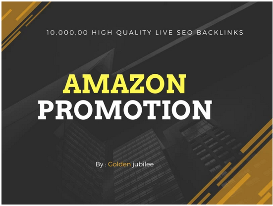 Provide 1 million high quality live SEO backlinks amazon promotion