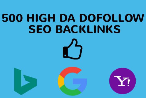 manually create 150 high da dofollow backlinks