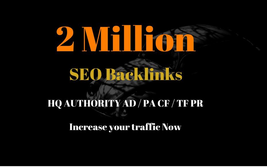 do 2 million gsa ser seo backlinks for your website promotion and traffic