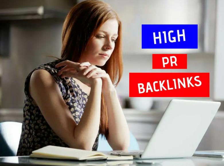 rank you on google by 300 high PR backlinks