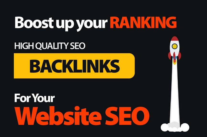 create high quality ranking proven website seo backlinks